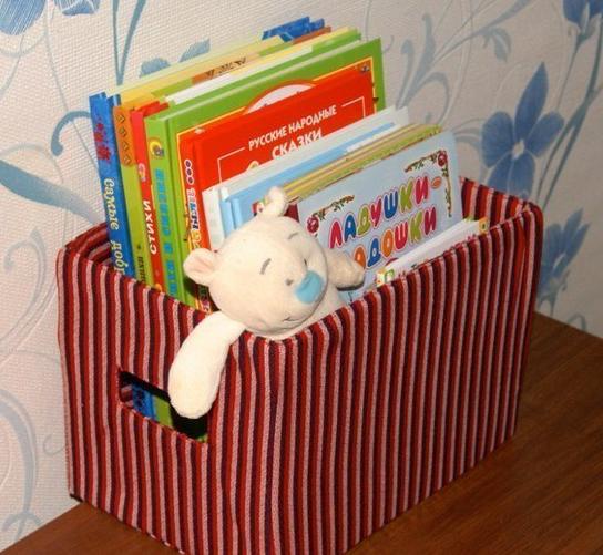Ящик под игрушки своими руками из картона
