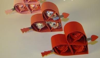 Сладкое сердце ко Дню Святого Валентина